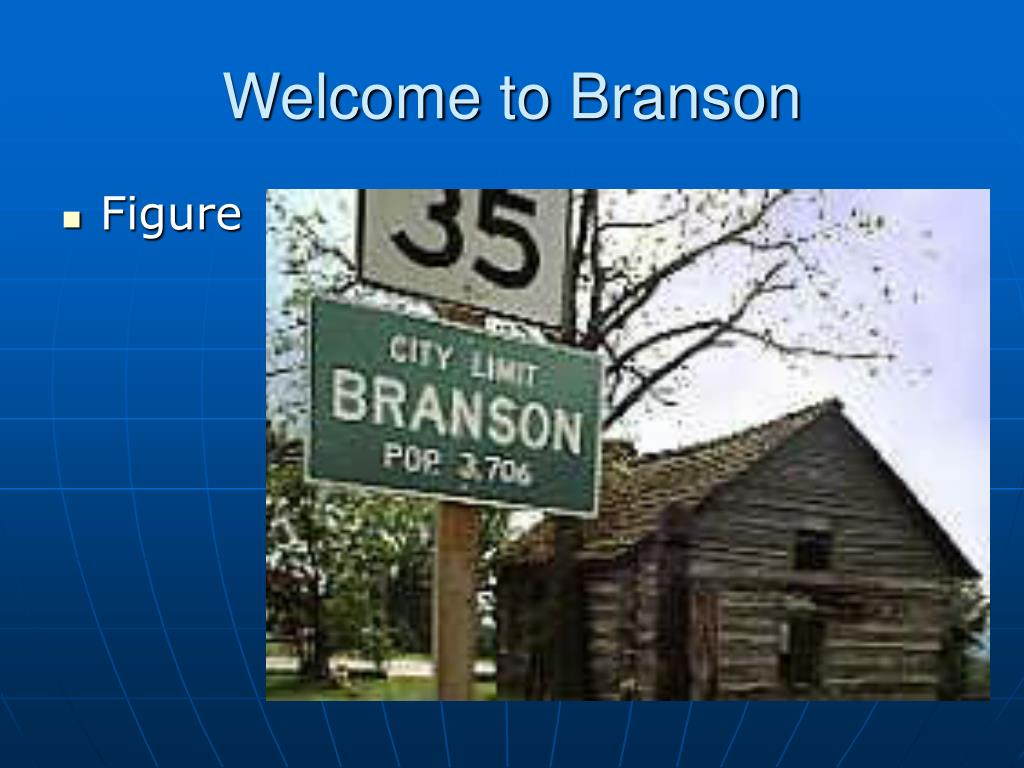 Welcome to Branson