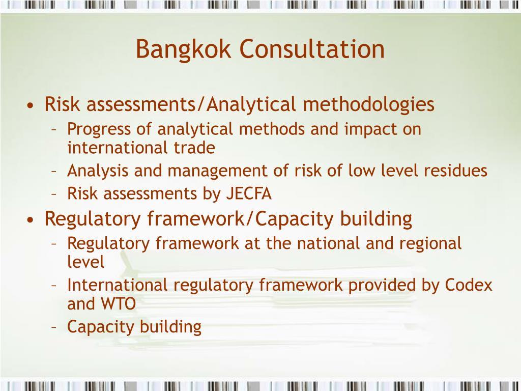 Bangkok Consultation