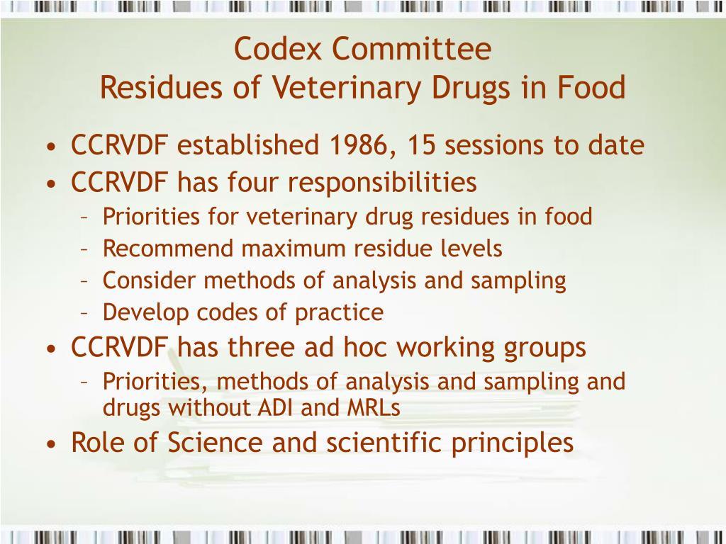Codex Committee