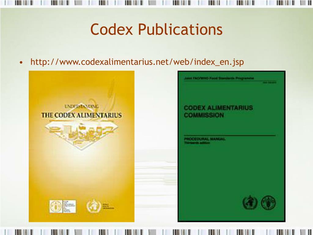 Codex Publications