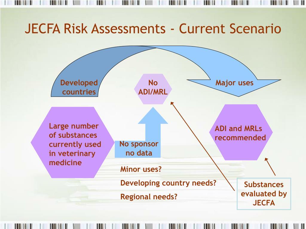 JECFA Risk Assessments - Current Scenario