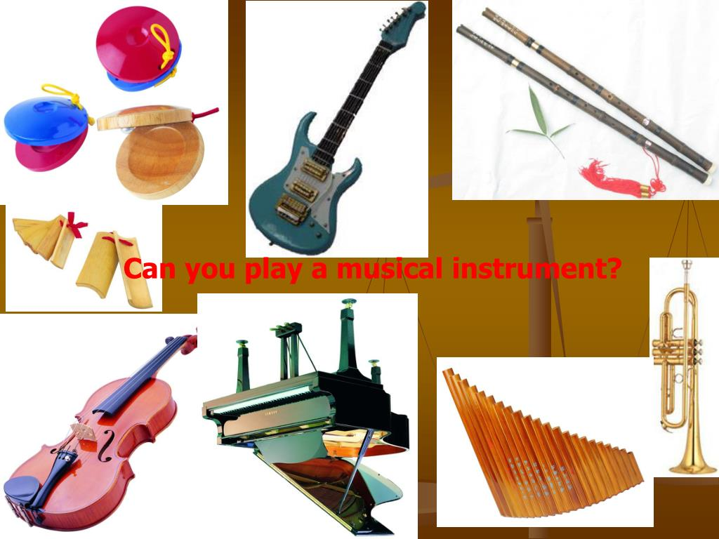 Can you play a musical instrument?