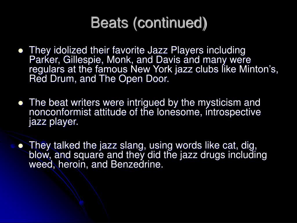 Beats (continued)