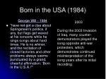 born in the usa 198427