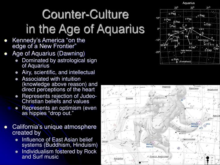 Counter culture in the age of aquarius