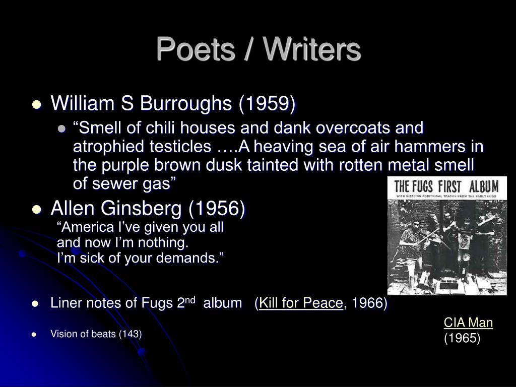 Poets / Writers