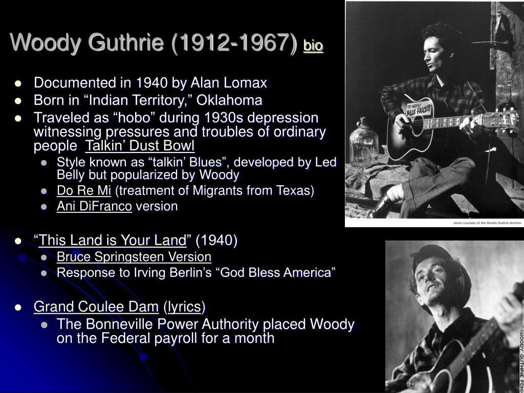 Woody Guthrie (1912-1967)