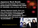 japanese rock bands