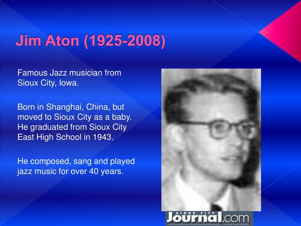 Jim Aton (1925-2008)