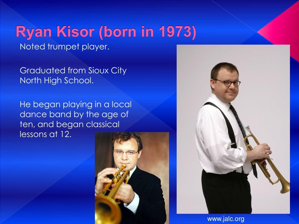 Ryan Kisor (born in 1973)
