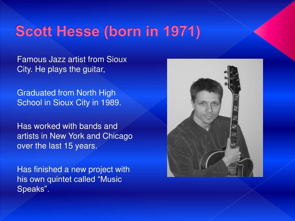 Scott Hesse (born in 1971)