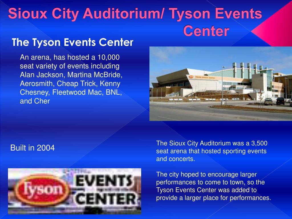 Sioux City Auditorium/ Tyson Events Center