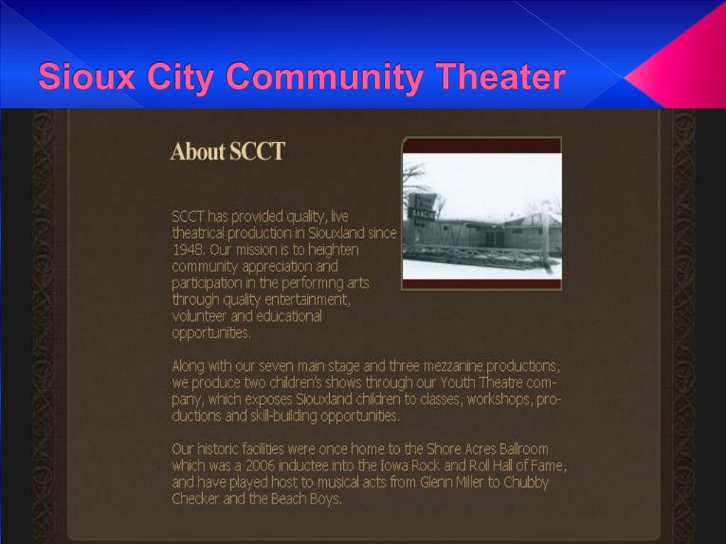Sioux City Community Theater