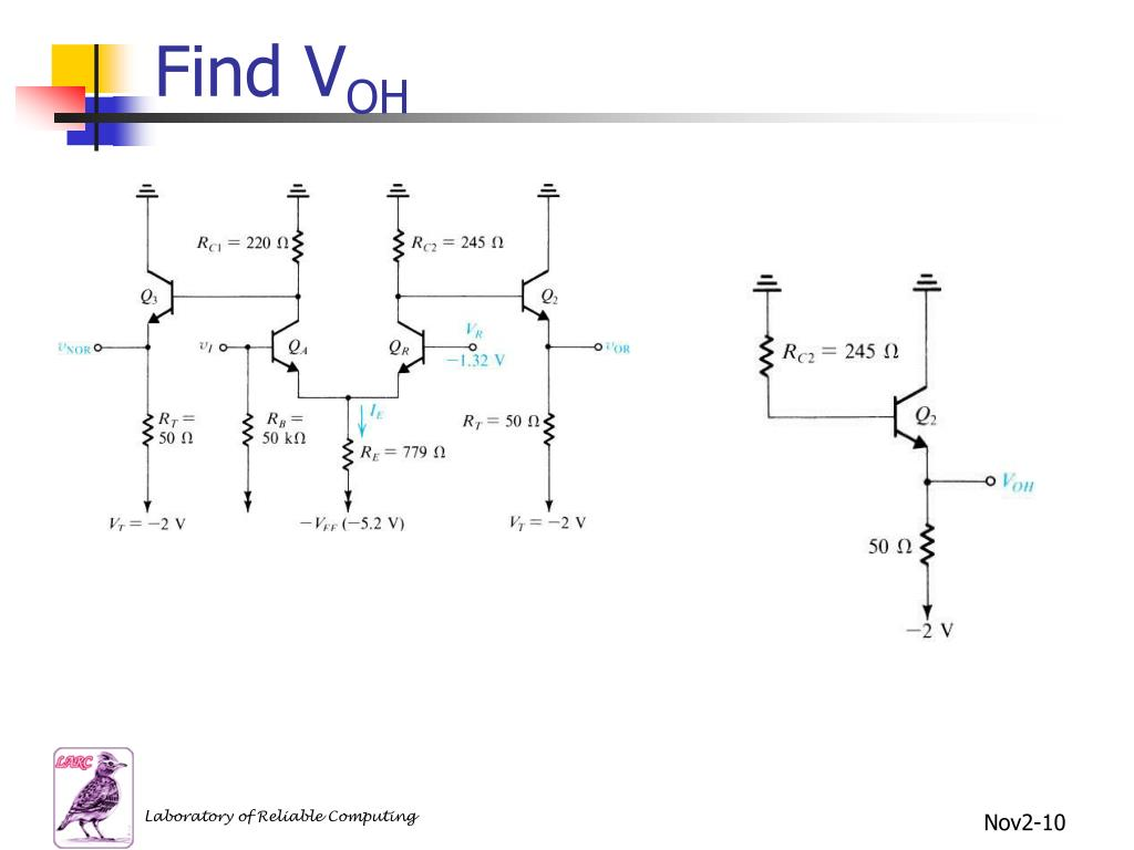 Find V