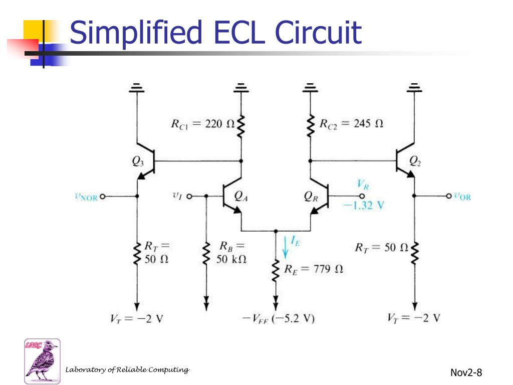 Simplified ECL Circuit
