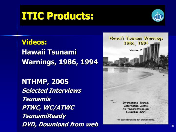 ITIC Products: