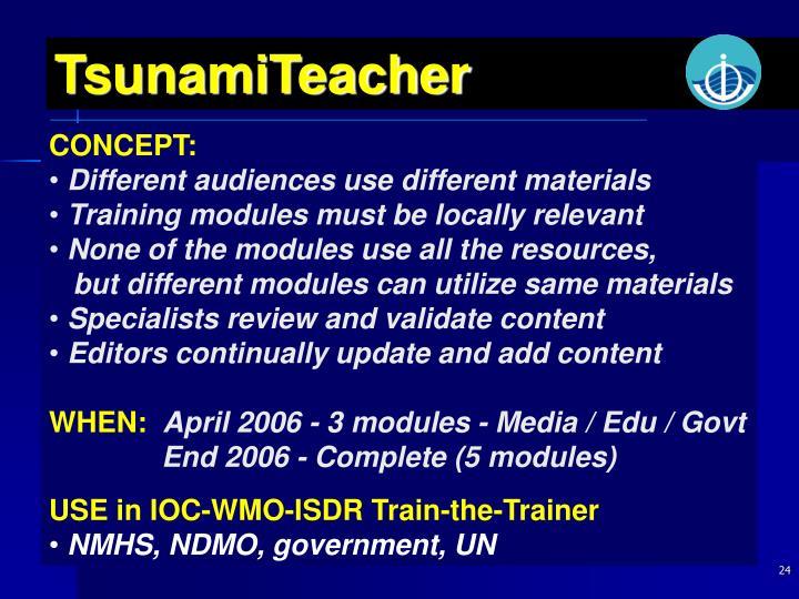 TsunamiTeacher