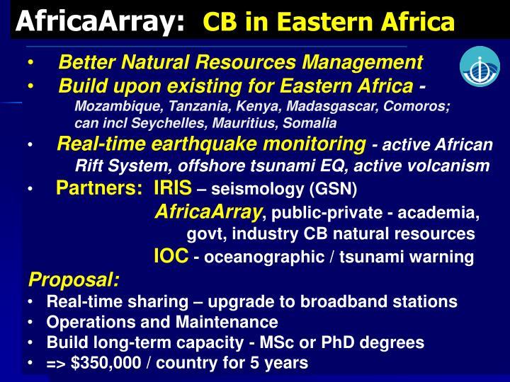 AfricaArray: