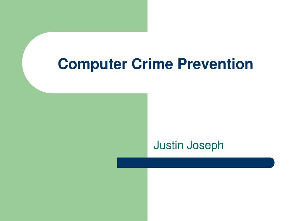 Computer Crime Prevention