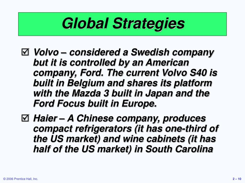 Global Strategies