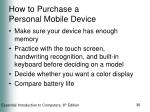 how to purchase a personal mobile device36