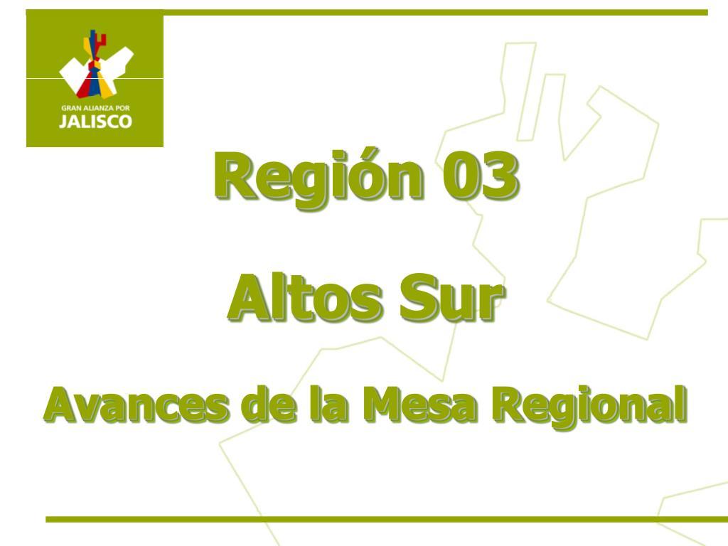 Región 03