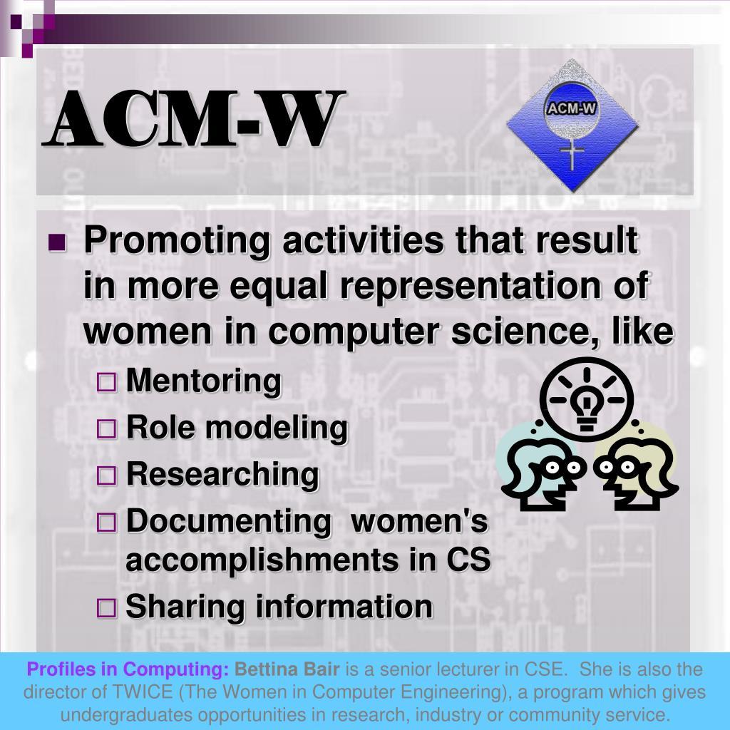 ACM-W