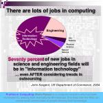 there are lots of jobs in computing