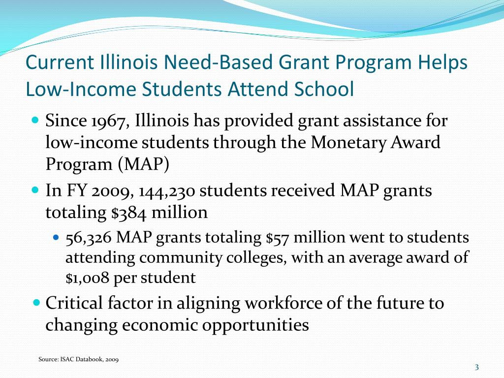 Current Illinois Need-Based Grant Program Helps Low-Income Students Attend School