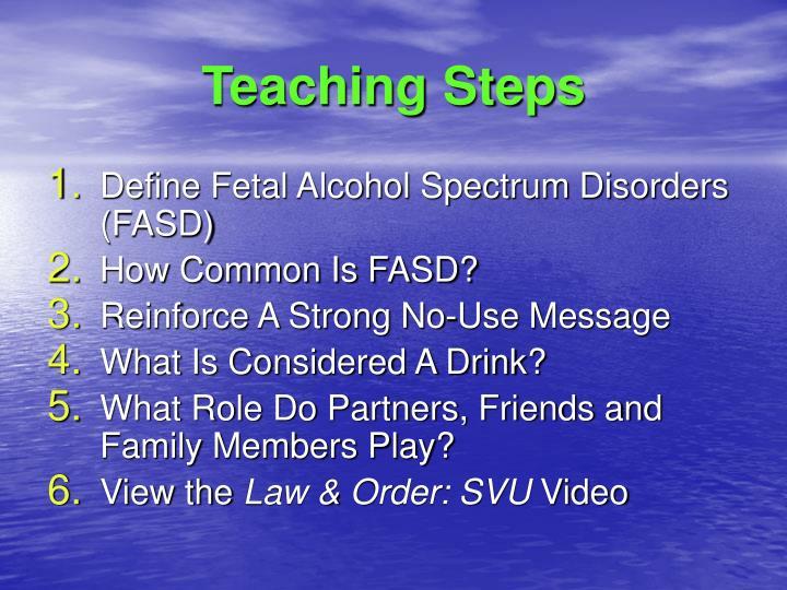 Teaching Steps