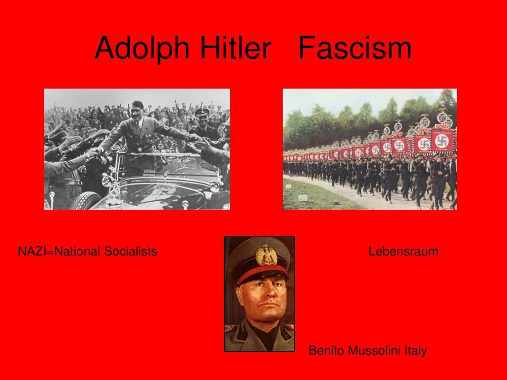 Adolph Hitler   Fascism
