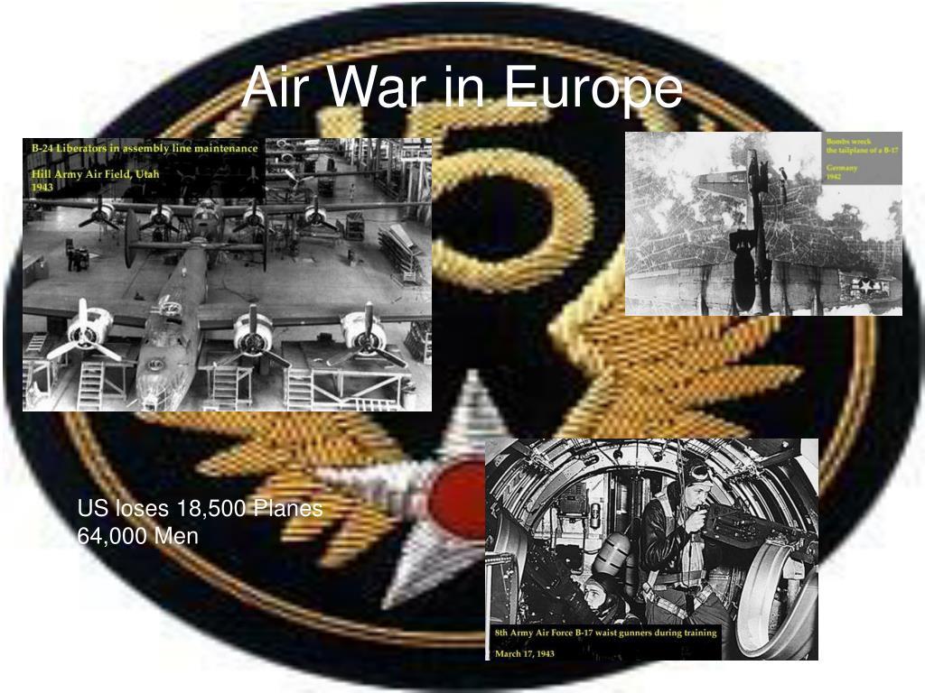 Air War in Europe