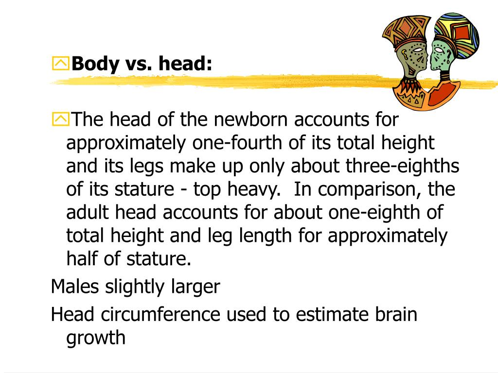 Body vs. head: