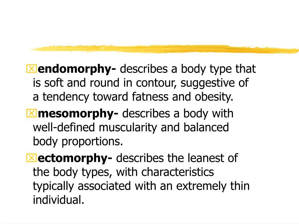 endomorphy-