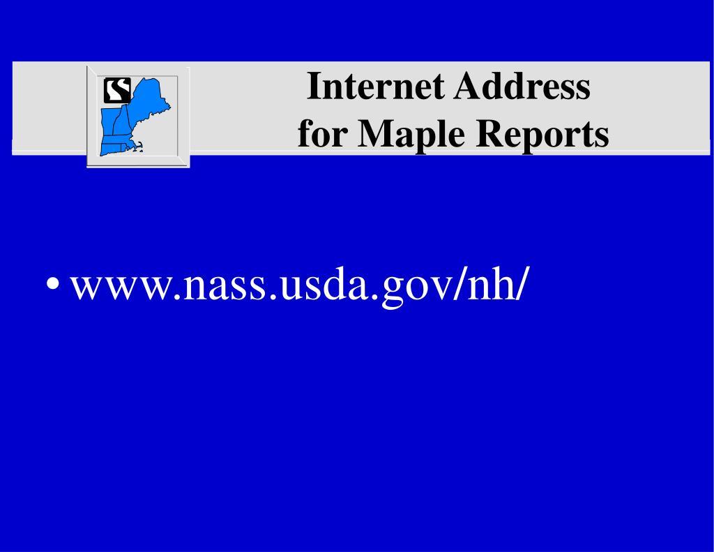 Internet Address