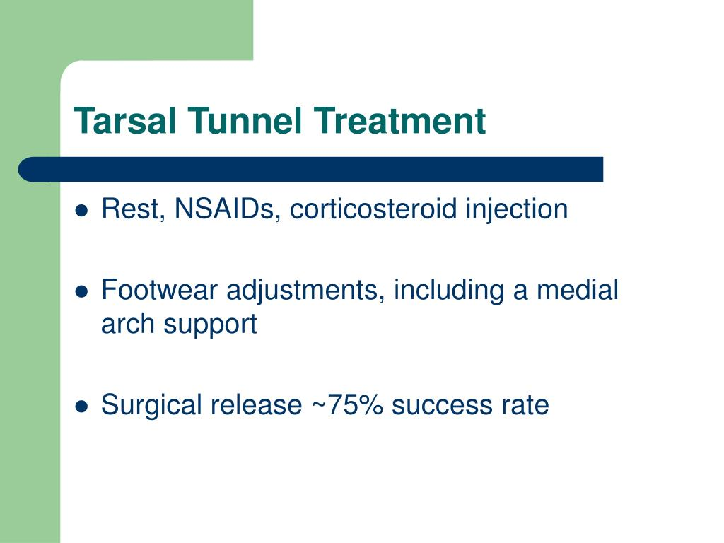 Tarsal Tunnel Treatment