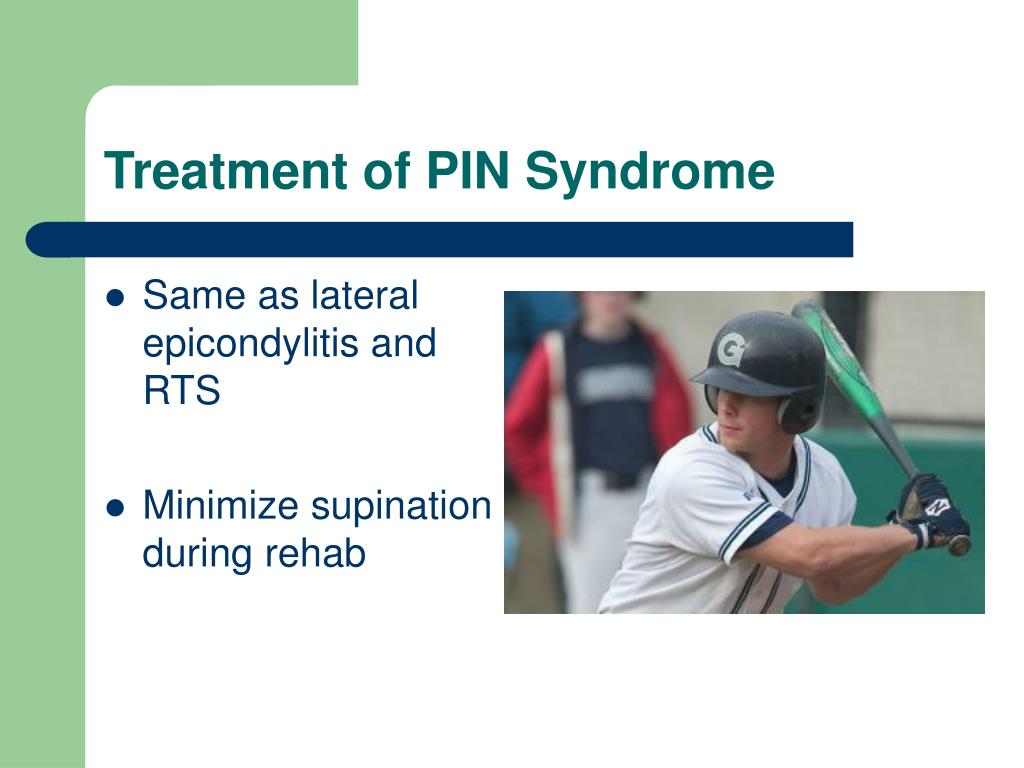 Treatment of PIN Syndrome