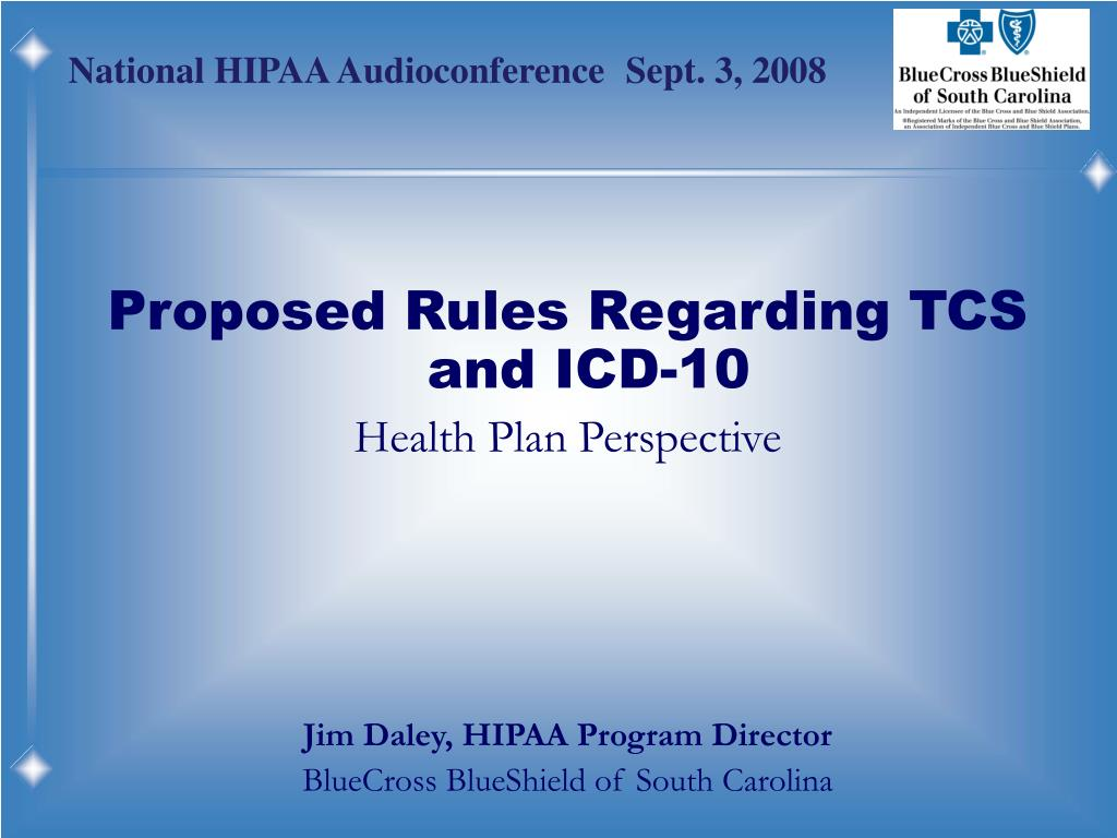 Proposed Rules Regarding TCS and ICD-10