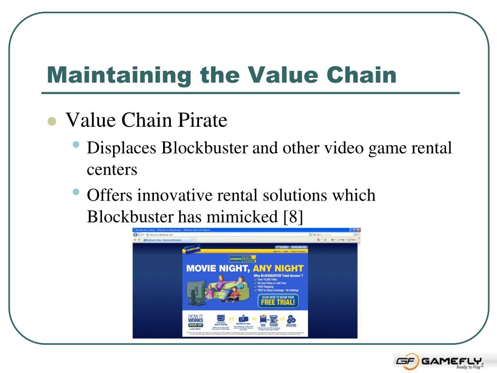 Maintaining the Value Chain