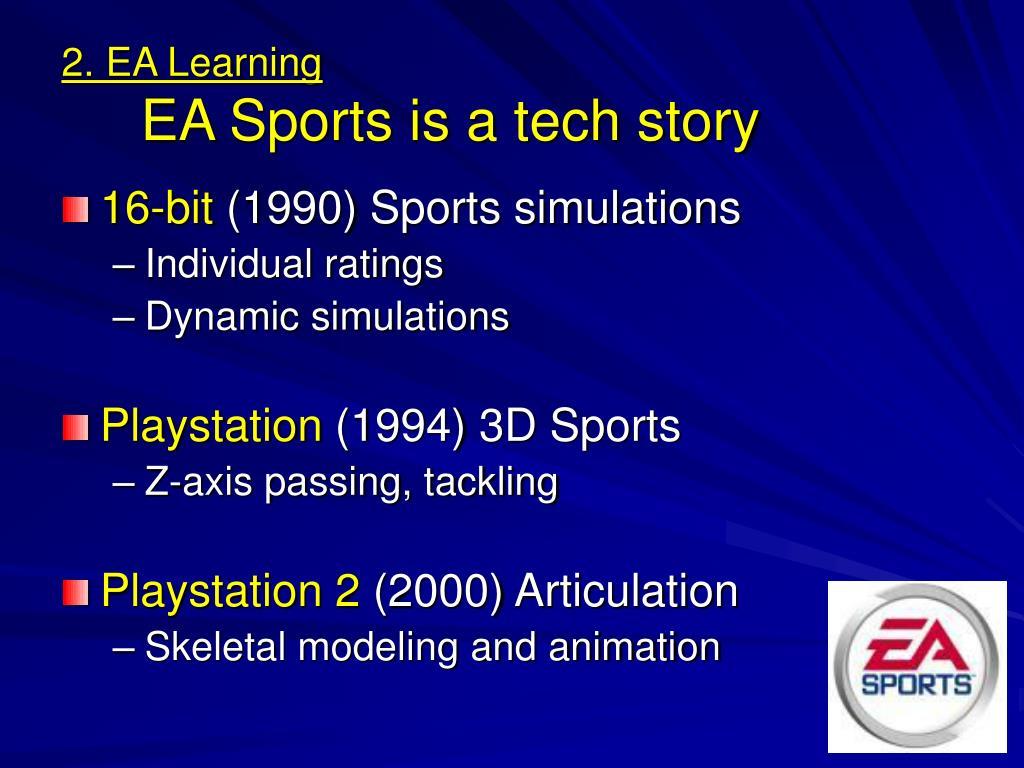 2. EA Learning
