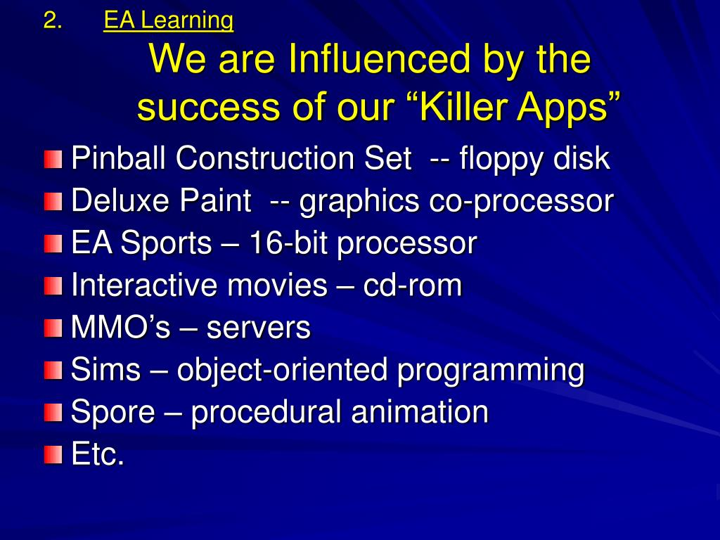 EA Learning