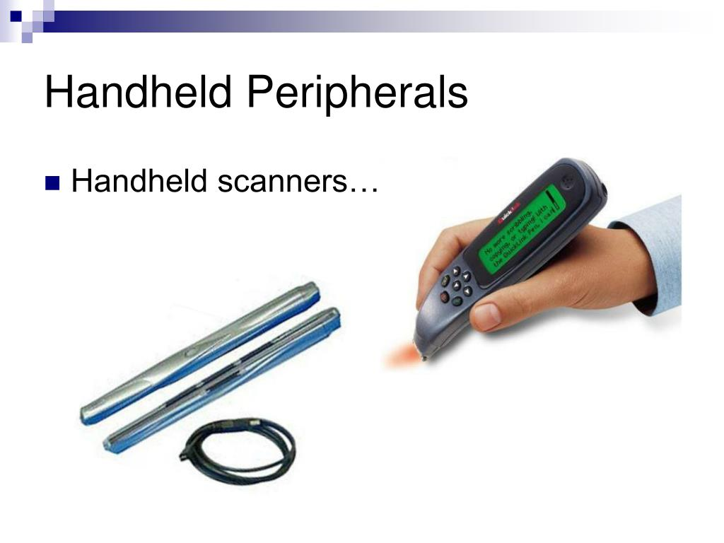Handheld Peripherals