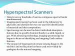 hyperspectral scanners