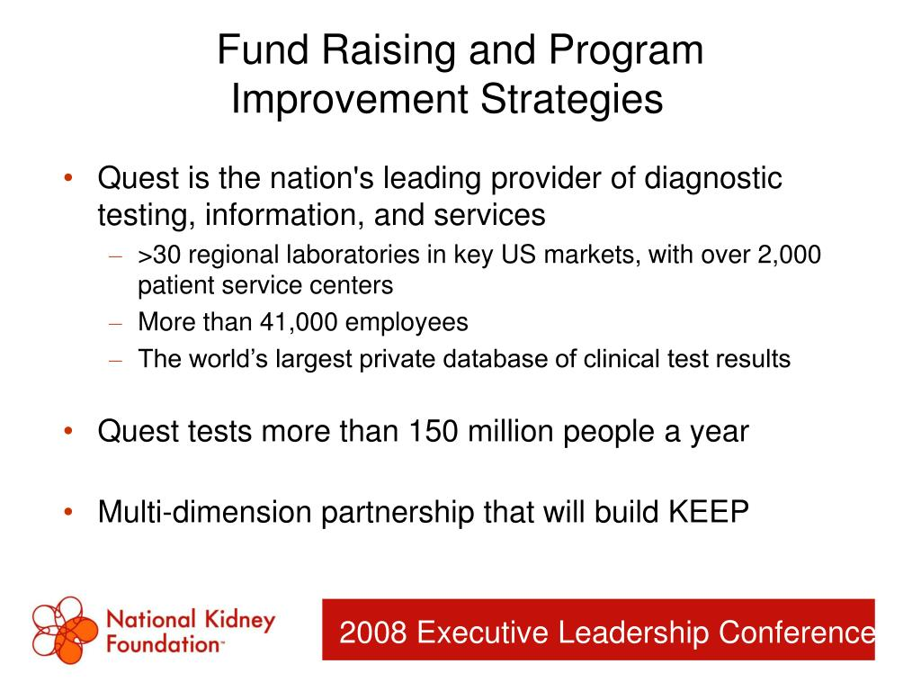 Fund Raising and Program
