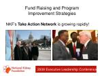 fund raising and program improvement strategies39