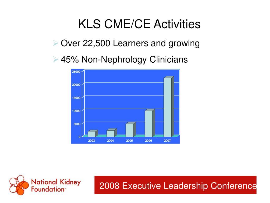 KLS CME/CE Activities