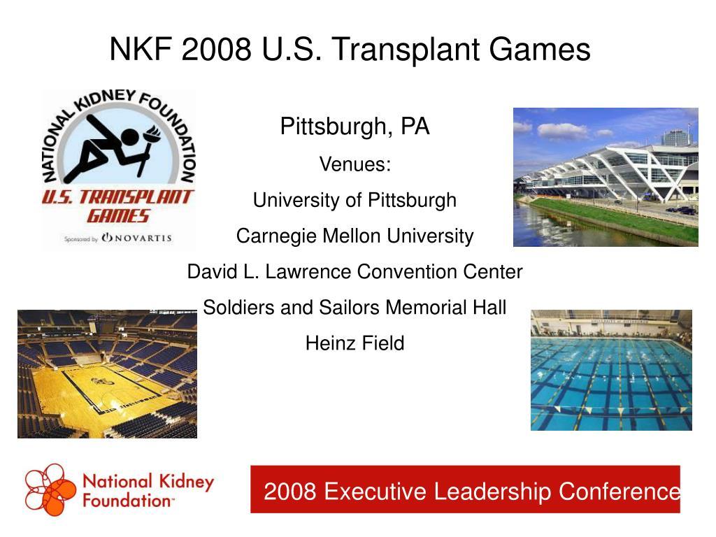NKF 2008 U.S. Transplant Games