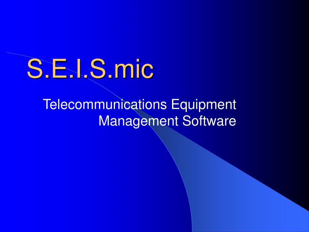 S.E.I.S.mic