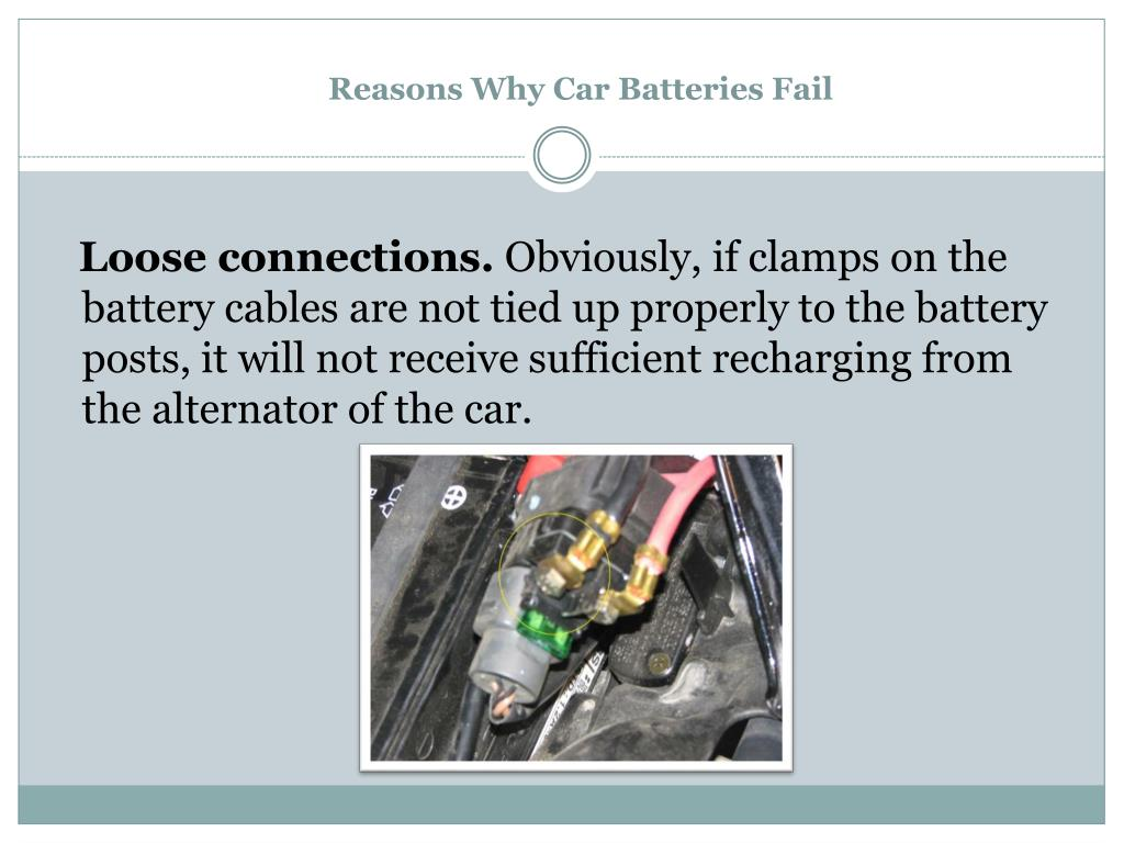 Reasons Why Car Batteries Fail