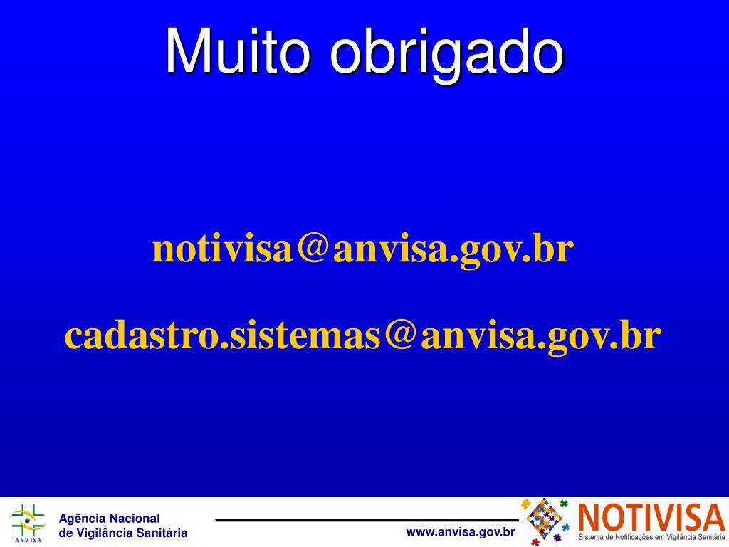 notivisa@anvisa.gov.br